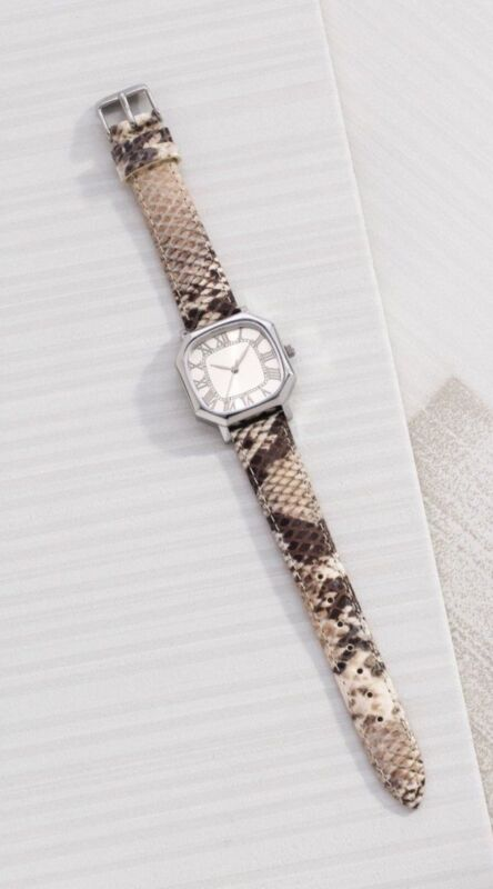 New Silpada watch Leather band Snake it Happen T3271
