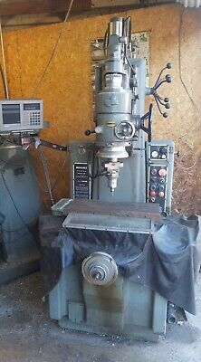 Moore Special Tool Jig Grinding Model No. G-18 Machine With Heidenhain Monitor