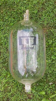 Universal 65lb Milk Weigh Jar Used. Surge Delaval Terrarium Ship In Bottle