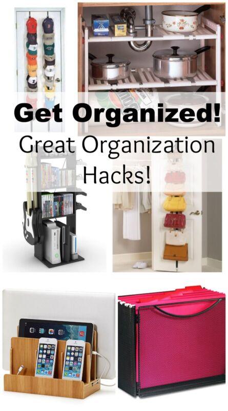 Home Organization Hacks Ebay