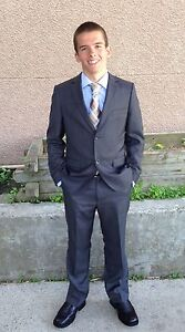 Youth size 16 suit and dress shirt