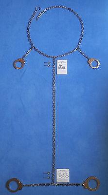 Bauchkette mit Handschellen und Fußeisen / Transport Restraint