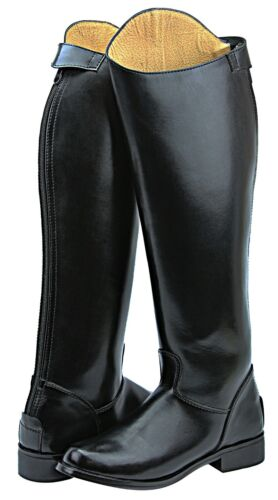FAMMZ MB-3 Ladies Women Mounted Police Horse Riding Equestrian Boots W/ Zipper