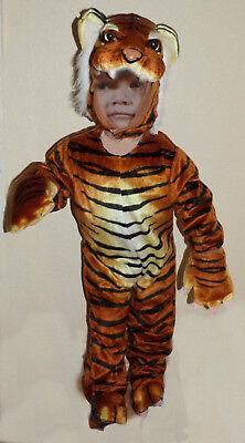 NEU/OVP! Tiger Kostüm 90 cm Fasching Kinder Junge Mädchen unisex Baby - Tiger Kostüm Kleinkind