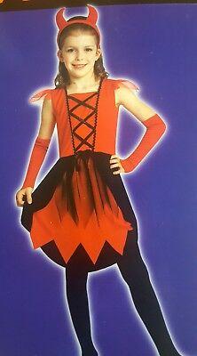 Girl's Cute Devil Halloween Costume (NEW) Size Small Cute Devil Girl