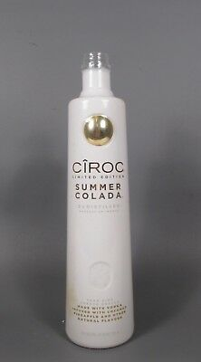 Empty Ciroc Limited Edition Summer Colada 750mL Bottle