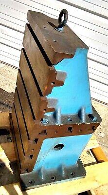 Devlieg Usa 90 Degree Angle Plate 16-12 X 30 Tall X 16 Deep Mill T Slot Blocks