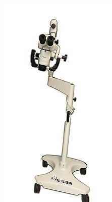 Seiler Alpha Air 3 Dental Microscope Mobile Endodontic Magnification 2020 Unit