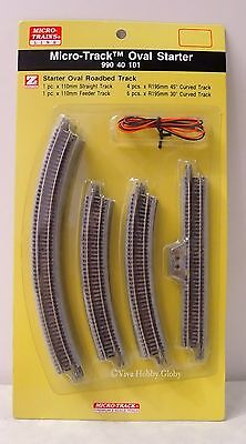 Micro-Trains Line (MTL) Z 99040101 Micro-Track Oval Starter Set. New.