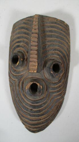 Vintage African Songye Kifwebe Tribal Carved Wood Wooden Mini Mask Congo Africa