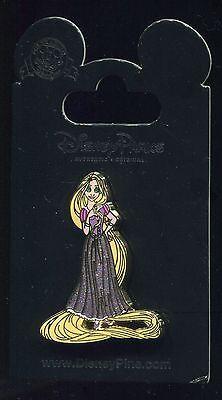 Princess Rapunzel Glitter Dress Tangled Disney Pin 93357