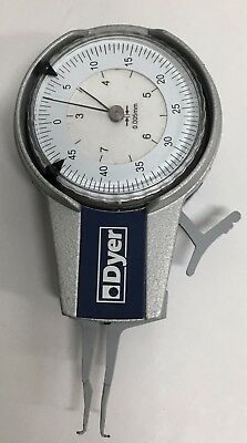 Dyer 104-200-12763 Internal Dial Caliper Gage 3-8mm Range 0.005mm Modified