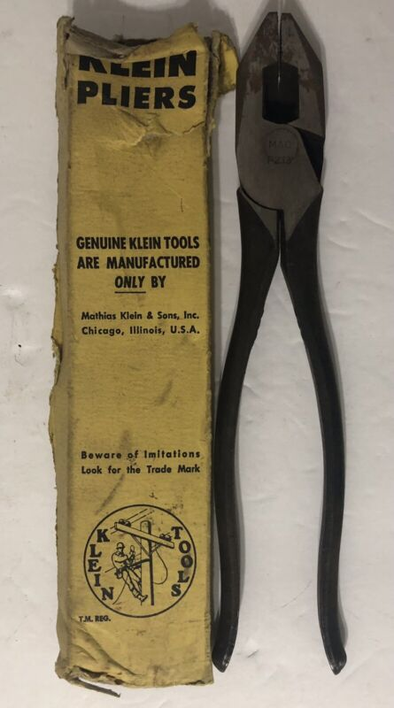 NEW! MAC Klein Tools Side Cutting Pliers P213