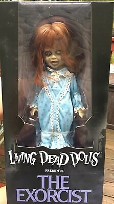 MEZCO Living Dead Dolls Presents The Exorcist Regan MacNeil Doll 1973 Movie Vers