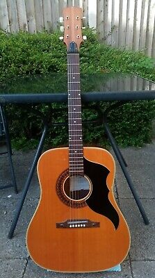 Eko J54 Acoustic Guitar 1964 1965 Model Made In Italy RARE BEAUTY Two Owners