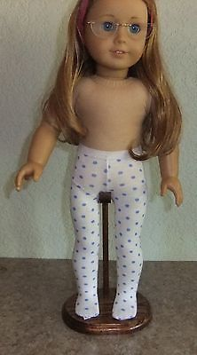 "Wood adj saddle stand handmade for 18"" American Girl dolls"