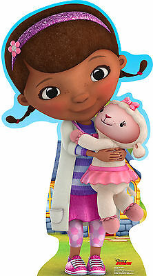 DOC MCSTUFFINS (DISNEY JUNIOR) LIFE SIZE STAND UP FIGURE CARTOON ANIMATED - Disney Life Sized Stand