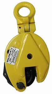 V-Lift Industrial Vertical Plate Lifting Clamp Steel 4409Lbs WLL