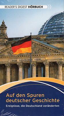 Reader's Digest Hörbücher  Auf den Spuren deutscher Geschichte