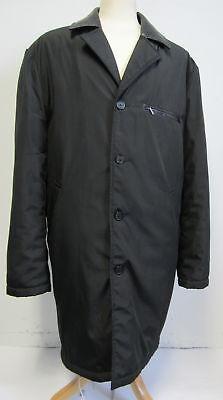 VERSACE CLASSIC black microfiber lightweight jacket sz 54/44