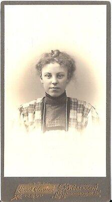 CAB Foto Feines Mädchen - Kopenhagen 1908