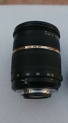 Tamron SP A09 28-75mm f/2.8 LD XR Aspherical Di IF Lens For Nikon 8pins