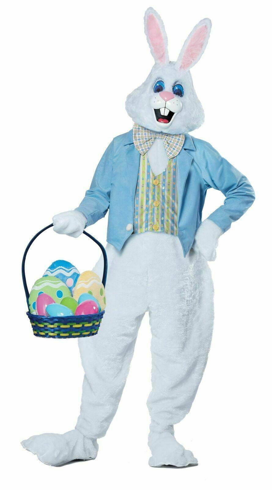 California Costumes Deluxe Easter Bunny Rabbit Adult Hallowe