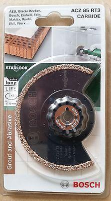 BOSCH ACZ 85 RT3 Starlock Carbide-RIFF Segmentsägeblatt, neu, OVP!