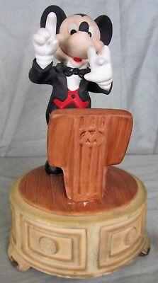 - Disney Mickey Mouse Conductor Ceramic Music Box