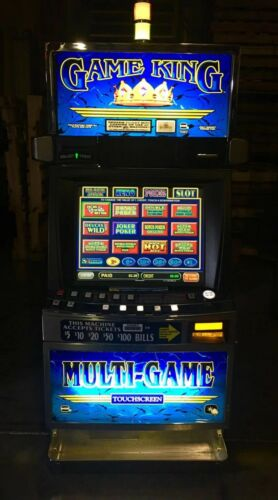IGT GAME KING 6.2 With 77 Games Keno, Blackjack, Slots, Poker and New LCD Screen