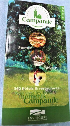 2000 Campanile Hotels & Restaurants France Benelux Spain Portugal England Poland