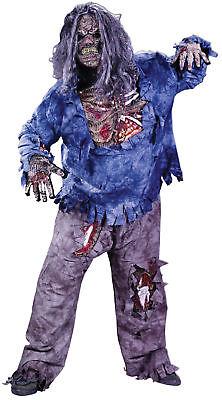 Zombie Mummy Gothic Costume Knee Bones Halloween Dress Up Funworld Plus Size](Zombie Mummy Halloween Costumes)