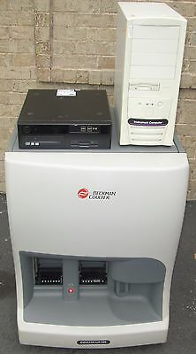 Beckman Coulter Lh 500 Lh500 Hematology Analyzer Computer Work Station