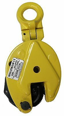 V-Lift Industrial Vertical Plate Lifting Clamp Steel 1763 Lbs WLL