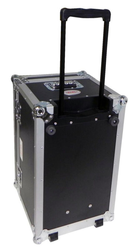 Pro X/TOV T-UTIHW ATA 300 Portable DJ Utility Case With Pull-Out Handle & Wheels