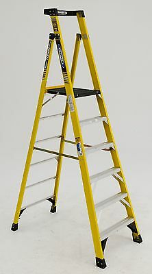 Werner Pd7306 - Type 1aa 375lb Rated Fiberglass Podium Ladder