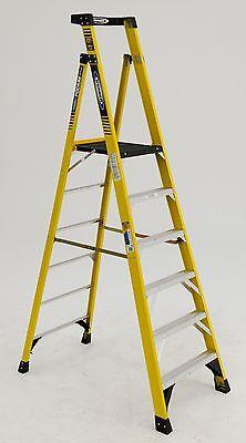 Werner Pd7306 - Type 1aa 375lb Rated Fiberglass Podium Ladder