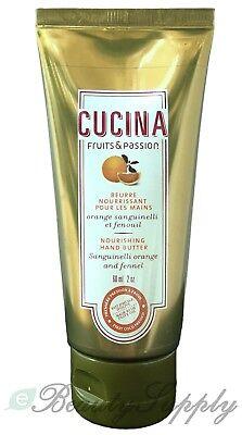 Cucina Fruits & Passion Sanguinelli Orange & Fennel Nourishing Hand Butter 2 oz ()