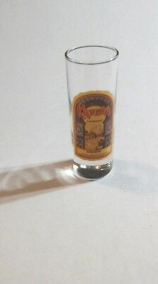 KAHLUA SHOT GLASS Large Size All Glass Double Shot Coffee Liqueur SHOOTER  for sale  Warne