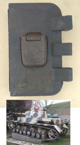 WW II German   Pz.Kpfw III- IV  turret hatch door