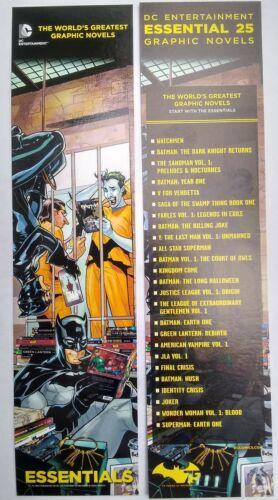 DC COMICS 25 Graphic Novels Bookmarker Batman,Joker,Penguin,Catwoman,75 years