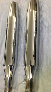Stock Harley Softail Exhaust Pipes