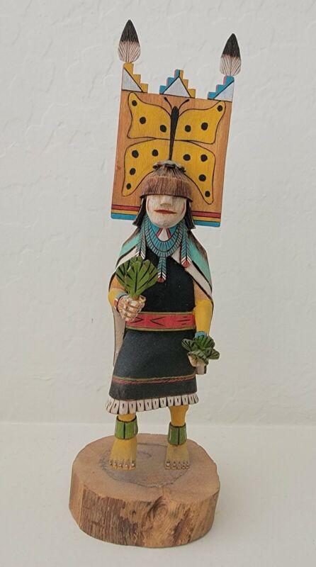Hopi Butterfly Girl Kachina Doll by Preston Ami