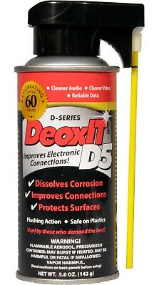DeoxIT® D5 Spray (NSN-6850-01-435-6476) 5% solution 142 g