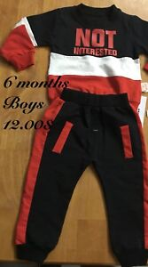 Boys not interested outfit