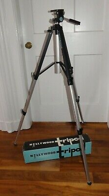 Vintage Hollywood Camera Ensign Master Deluxe Channel Tripod in box
