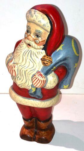 Vaillancourt Folk Art 11th Anniv Starlight Chalkware Santa Ltd Ed #526 - Signed