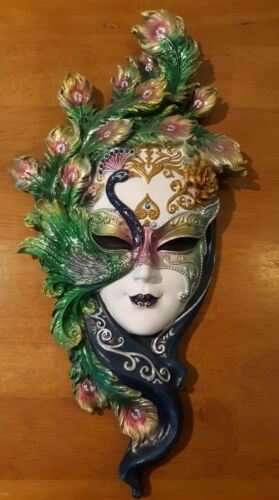 Top Collection Lady Peacock Venetian Style Carnival Masquerade Party Mask