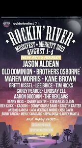 Merritt Rockn Riverfest tickets