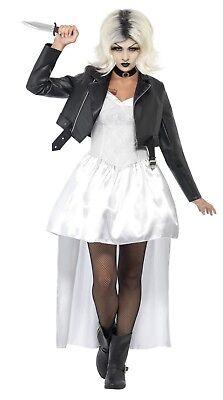 Damen Halloween Braut von Chucky Kostüm Kostüm Damen - Chuckys Braut Kostüm